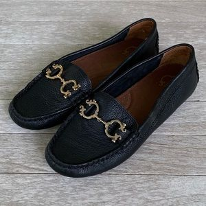 C Wonder Black Nappa Horsebit Loafers. NWOB! 7